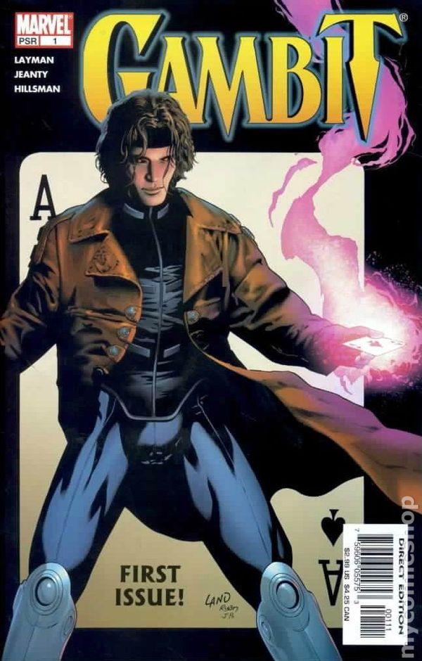 Gambit Comic Art Gambit (2004 4th series) 1