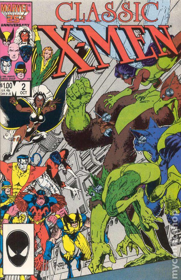 X Men 2 Comic X-Men Classic (1986 Cl...