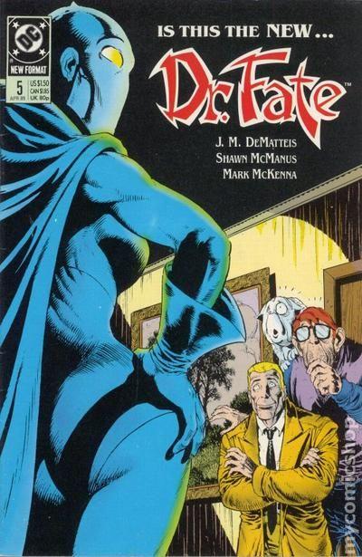 doctor fate  1988 2nd series  comic books