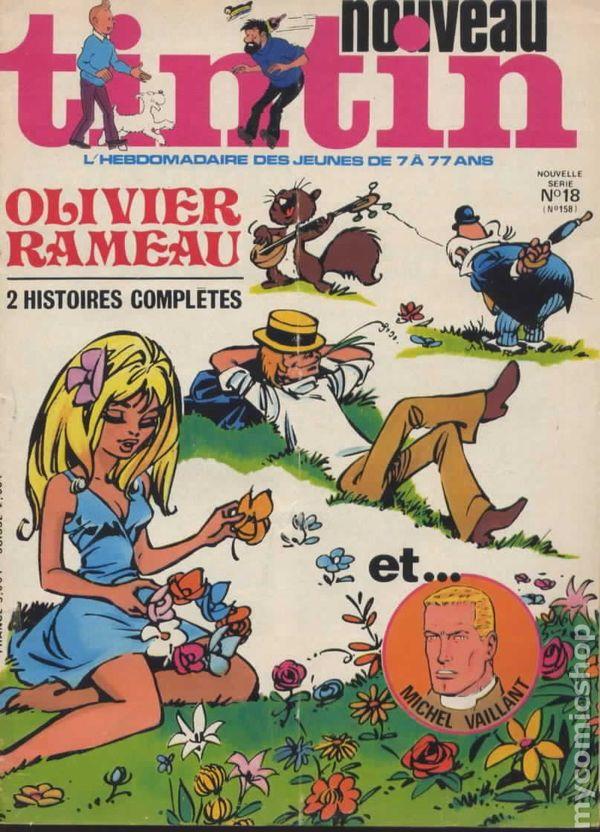 Tintin Comics French Tintin Nouveau Magazin...