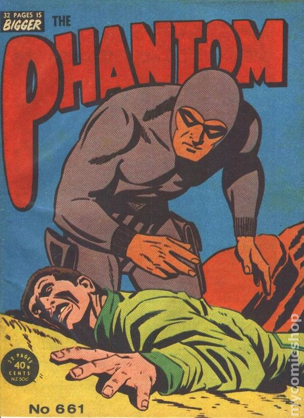 1978 Frew Phantom Comic no. 642