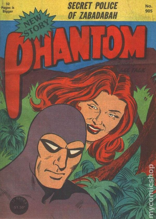 1988 Frew Phantom Comic no. 898