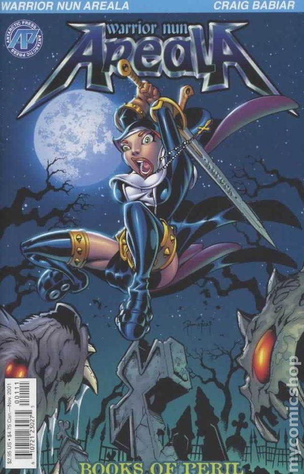 Warrior Nun Areala (2001 4th Series) comic books