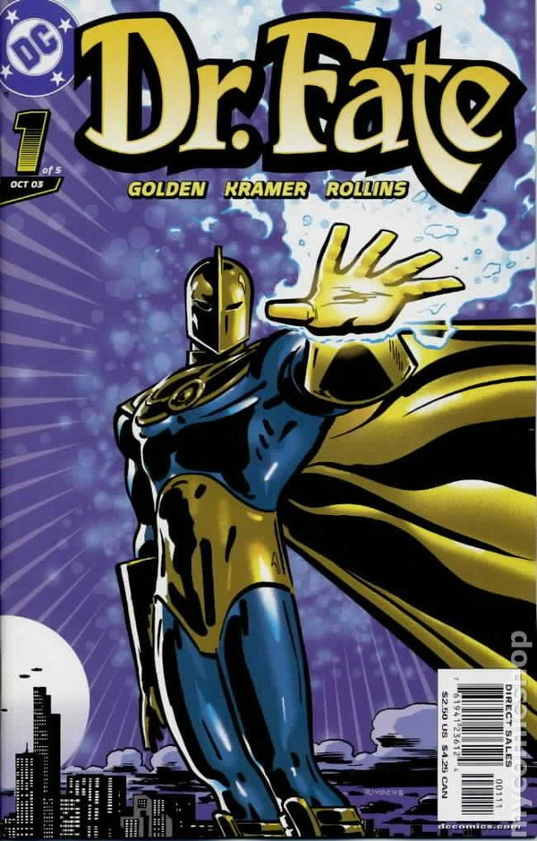 Doctor Fate Comic Books Issue 1
