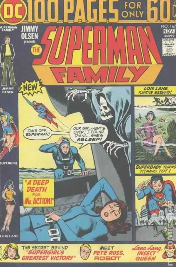 superman family  1974  comic books