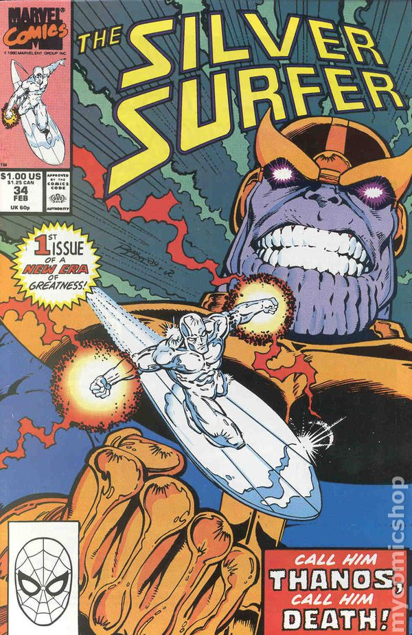 Silver Surfer 1987 2nd Series Comic Books