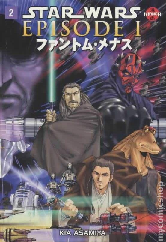 Star Wars Manga Episode 1 The Phantom Menace Gn 1999 Dark