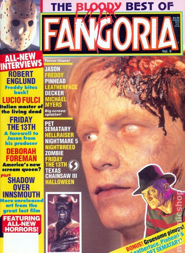 best of fangoria 1982 comic books