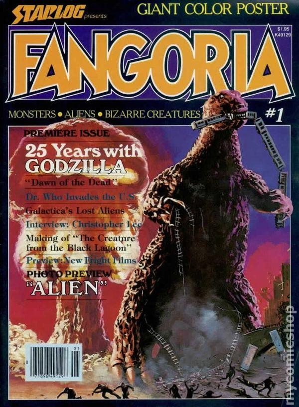 fangoria  1979  comic books