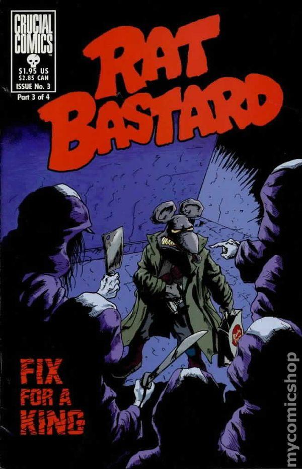 Rat Bastard (1997) comic books