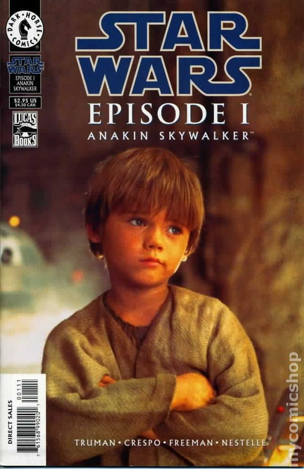 star wars episode 1 anakin skywalker 1999 comic books. Black Bedroom Furniture Sets. Home Design Ideas