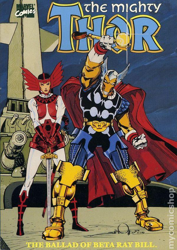 Comic Books In Saga Of Beta Ray Bill Tpb
