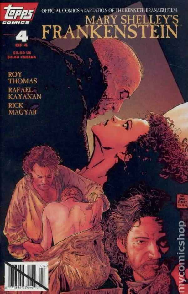 Shelley, Mary - Frankenstein, the novel and the film