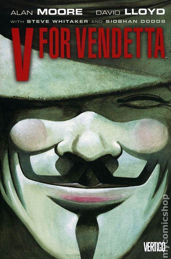 V for vendetta comic booksâ€