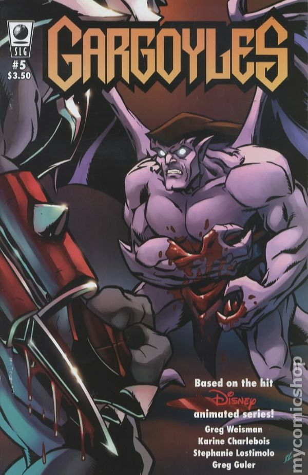 Gargoyles (2006 Amaze Ink SLG) comic books House Broken Movie