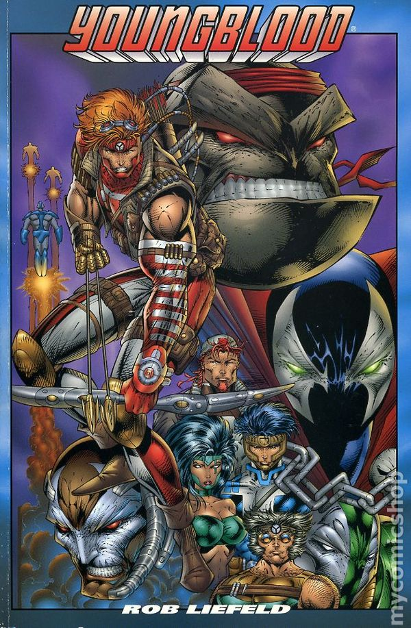 Comic Books In Youngblood 1st Series Tpb