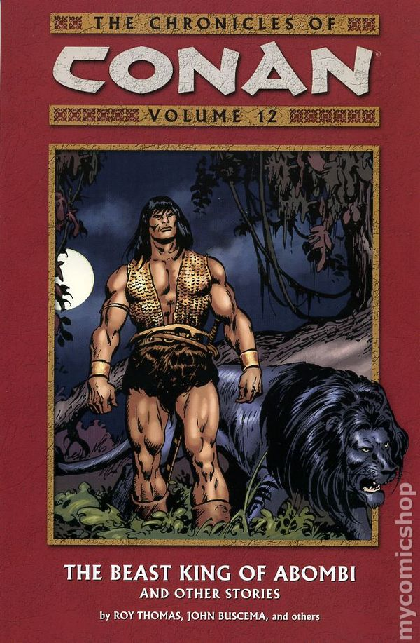Chronicles Of Conan Tpb 2003 Present Dark Horse Comic Books