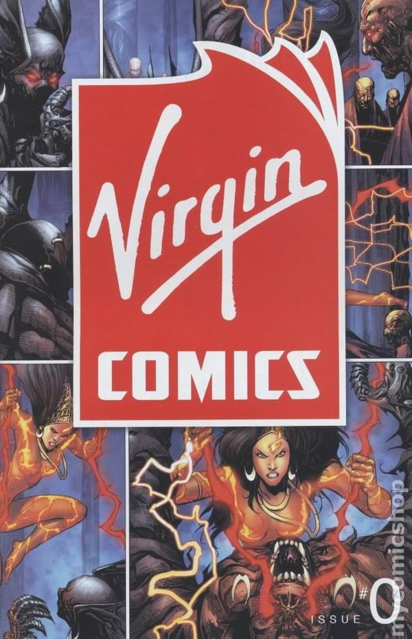 Virgin Comics Shut Down - Publishers Weekly