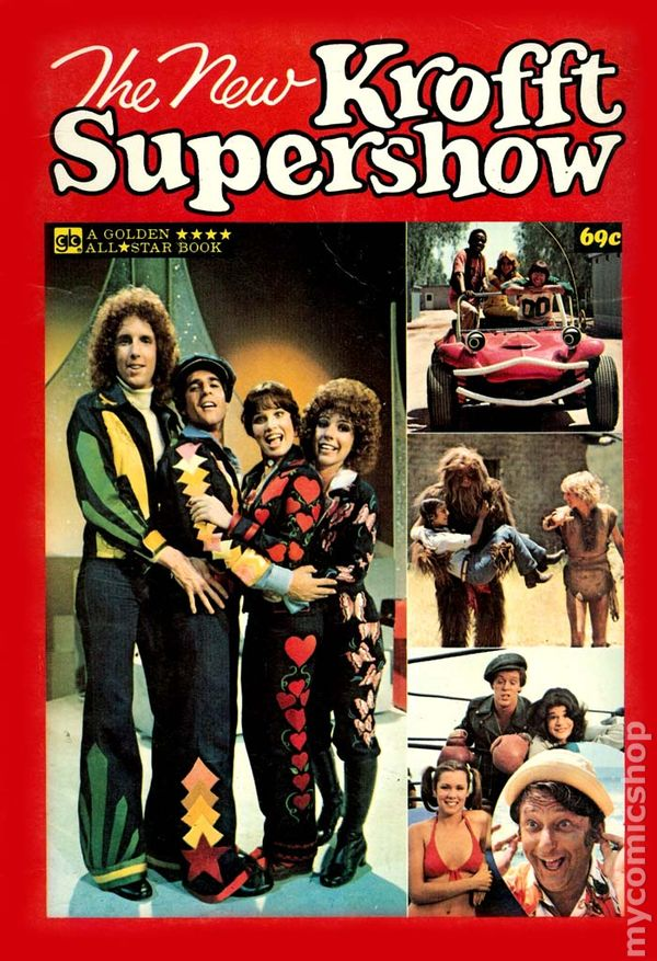 THE NEW KROFFT SUPERSHOW 3 70S TV SERIES PHOTO COVER GOLD KEY COMICS
