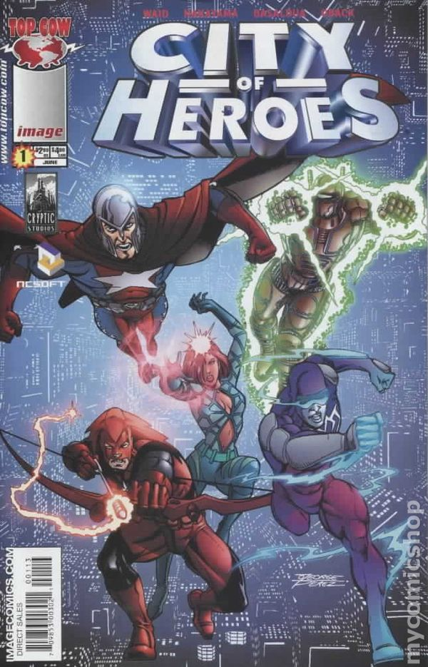 city of heroes  2005 image  comic books