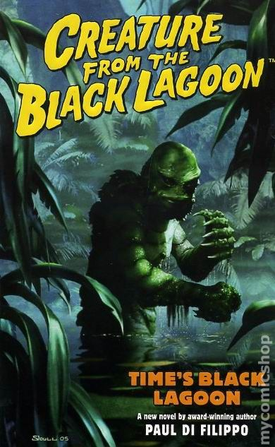 Black Lagoon Book Cover ~ Creature from the black lagoon time s pb
