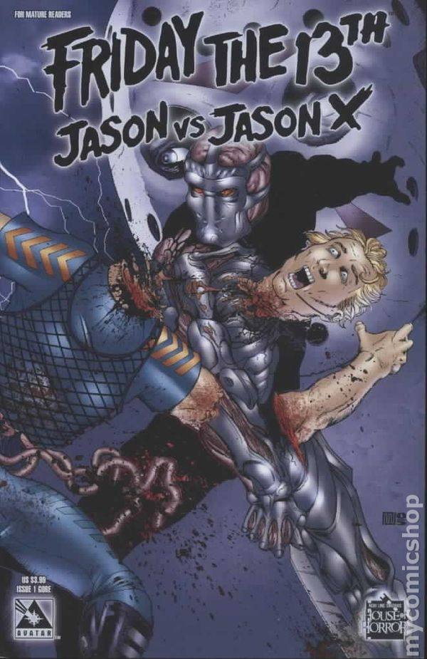 Friday The Th Jason Vs Jason X  Comic Books