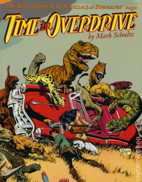 cadillacs and dinosaurs gn 1989 1993 comic books. Cars Review. Best American Auto & Cars Review