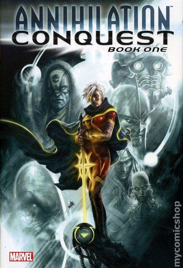 Comic books in 'Annihilation Conquest'