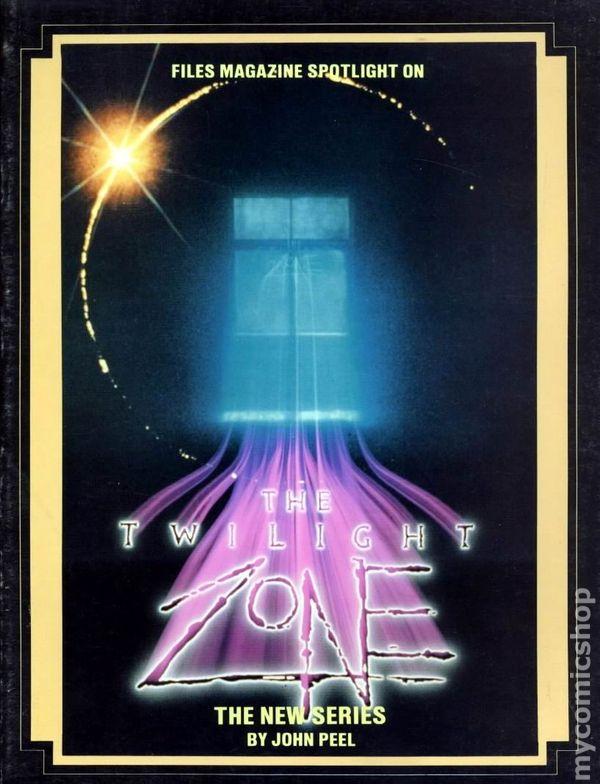 Book Cover Series Zone : The twilight zone comic books issue