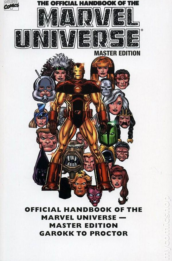 official handbook of the marvel universe 2008