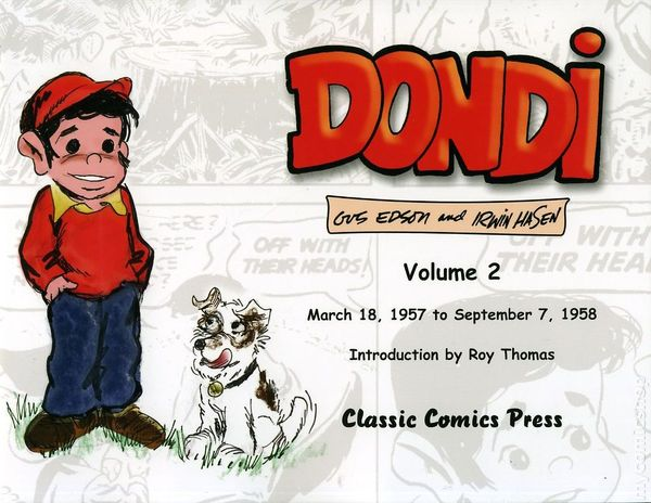 Comic strip dog in dondi