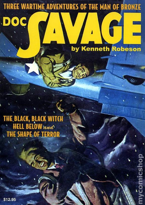 DOC SAVAGE Double Novels #31 and #32 Nostalgia Ventures PULP ADVENTURES!
