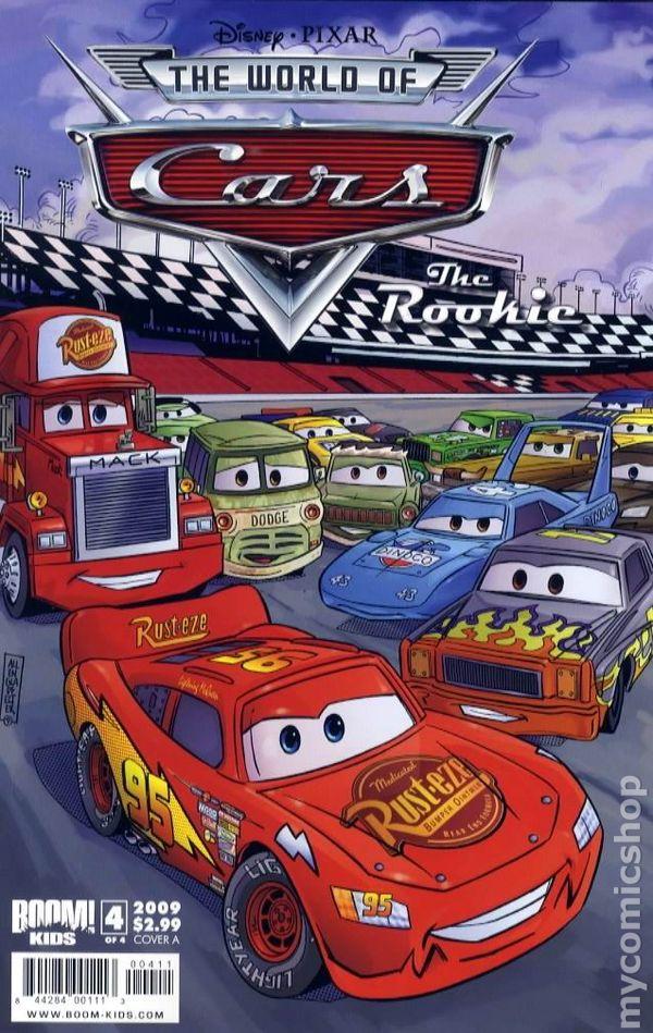 Cars 2009 1st Series Boom Studios Comic Books