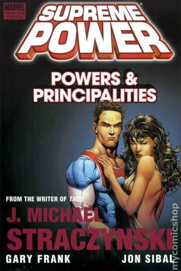 Supreme Power Powers and Principalities HC (2009) comic books