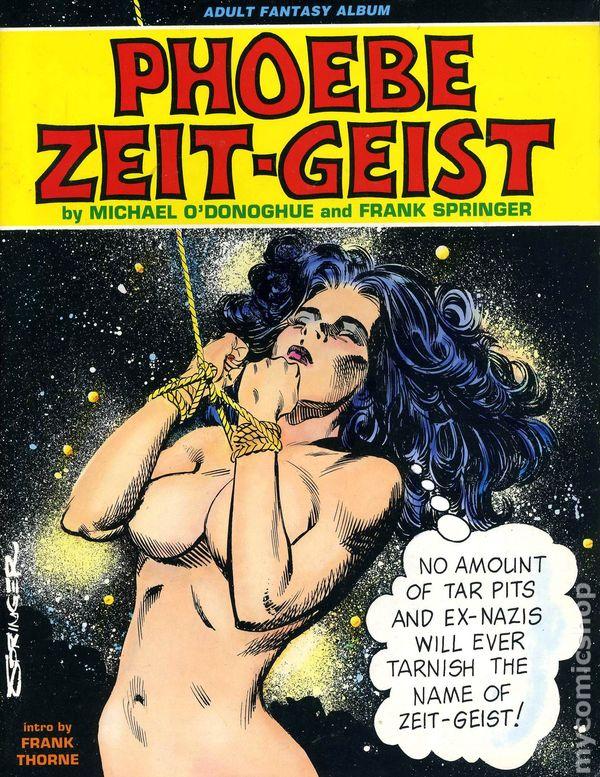 Phoebe zeitgeist comic adult