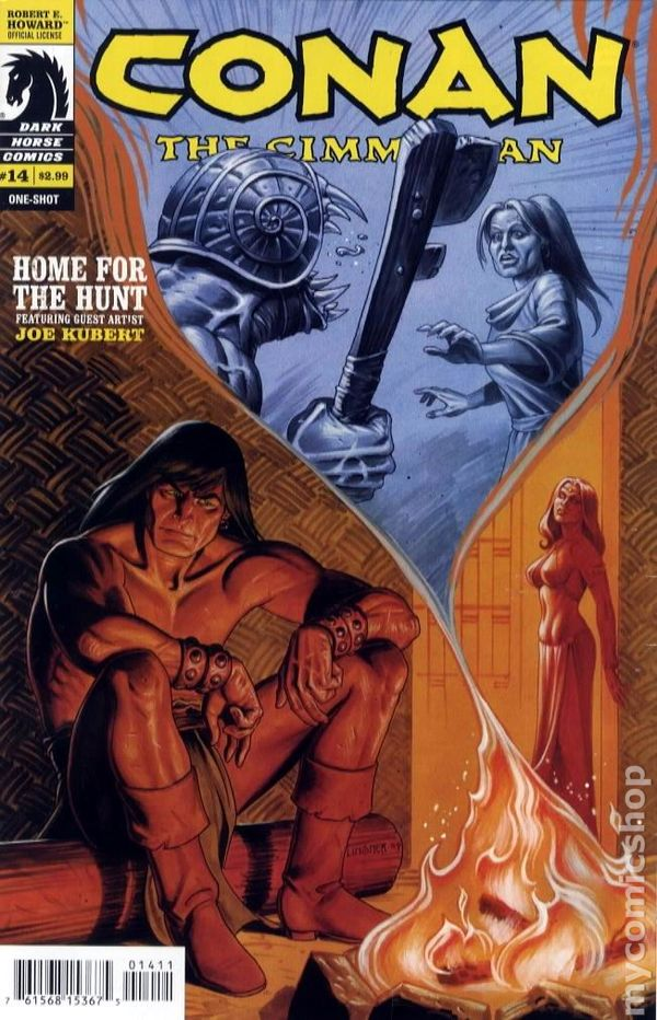 Conan The Cimmerian 2008 Dark Horse Comic Books