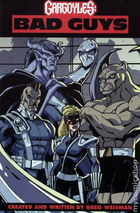 Please note that gargoyles #9 - 12 and gargoyles: bad guys #5 - 6 are only available in trade paperback form