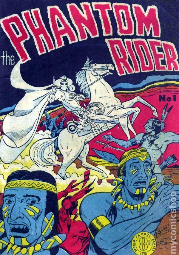 Phantom Rider (1950 Circa Australian Edition) comic books