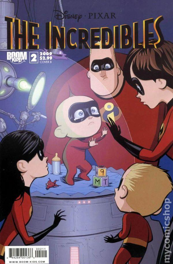 Incredibles (2009 2nd Series Boom Studios) comic books