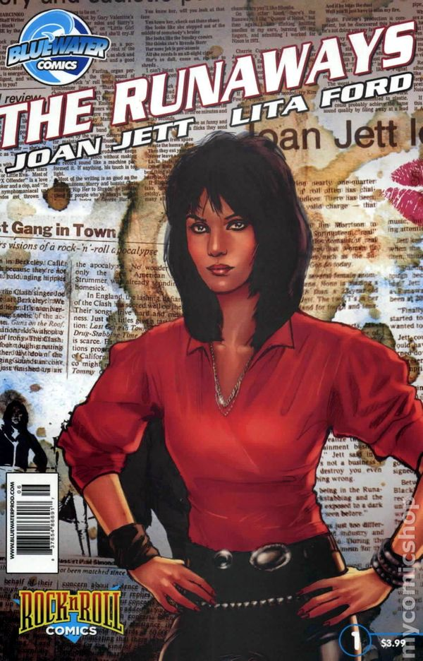 Rock N Roll Comics Joan Jett And The Runaways  2010