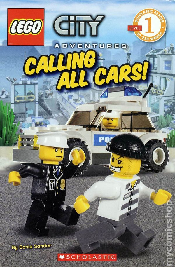 LEGO City Adventures Calling All Cars SC 2010 Comic Books