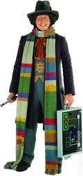 Doctor Who The 4th Doctor Action Figure (2014 Underground Toys) Pyramid Version ITEM#1