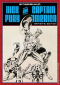 Steranko: Nick Fury and Captain America HC (2015 IDW/Marvel) Artist's Edition 1B-1ST