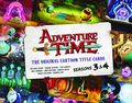Adventure Time The Original Cartoon Title Cards HC (2014 Titan Books) 2-1ST