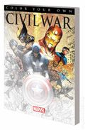 Color Your Own Civil War SC (2016 Marvel) 1-1ST