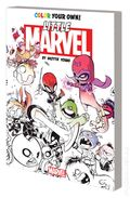 Color Your Own Little Marvel SC (2016 Marvel) By Skottie Young 1-1ST