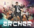 Art of Archer HC (2016 HarperCollins) 1-1ST