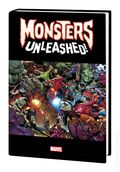 Monsters Unleashed HC (2017 Marvel) Monster-Size Edition 1-1ST