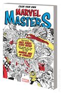 Color Your Own Marvel Masters SC (2017 Marvel) 1-1ST
