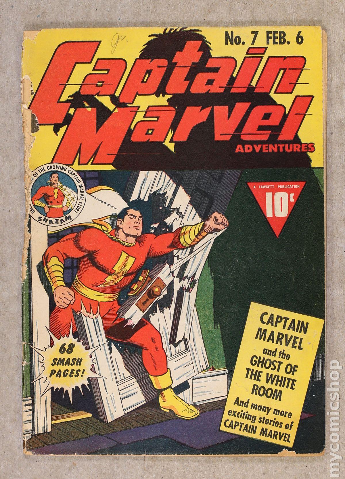captain marvel 7 value